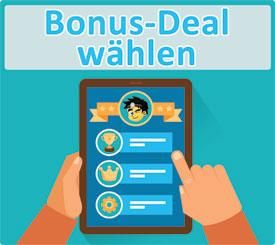 Bonus-Deal wählen