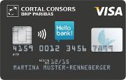 Cortal Consors Kreditkarte