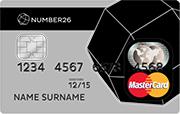 Number26 Prepaid Kreditkarte