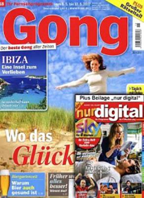 Gong mit nur digital