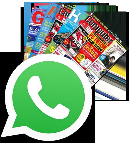 WhatsApp Zeitschriftenabo