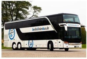 Berlinlinienbus: 50% Rabatt auf 50€- und 100€-Gutscheine