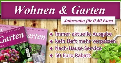 wohnen und garten zeitschrift rezepte: wohnen und garten kosten, Garten und Bauen