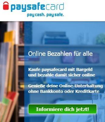 paysafecard gutschein gratis