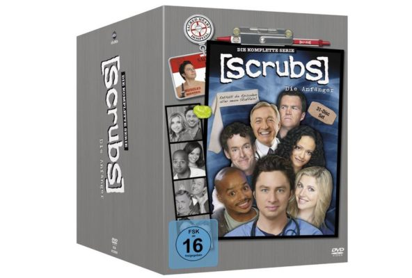 scrubs die anfänger die komplette serie auf dvd
