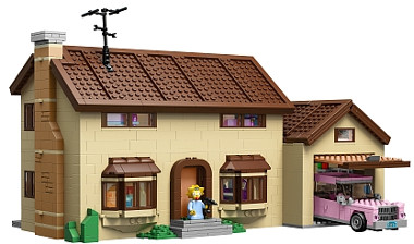 Lego The Simpsons Haus