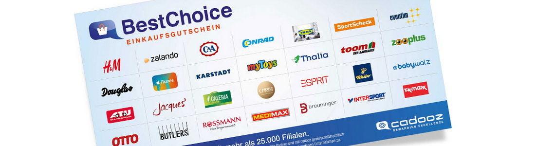 ad4bfe9796f431 BestChoice Gutschein einlösen in über 200 Shops - So funktioniert s!