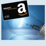 Strom- und Gasanbieterwechsel + 2x 20€ Amazon.de Gutschein