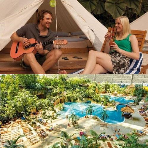 g nstiger kurzurlaub 2 tage im tropical islands mit zelt bernachtung ab 31 50 p p. Black Bedroom Furniture Sets. Home Design Ideas