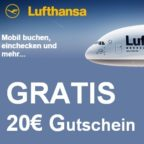 Lufthansa Neue Aktion BB