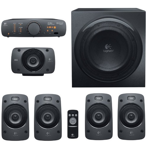 logitech z906 soundsystem 5 1 thx dolby digital f r. Black Bedroom Furniture Sets. Home Design Ideas