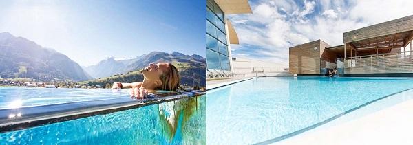 Tauern-Spa-Kaprun-Skylinepool-im-Sommer1