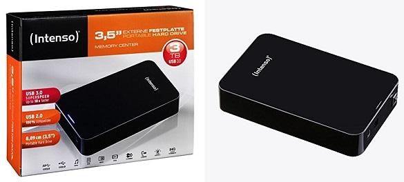 externe festplatte intenso memory center 5tb usb 3 0. Black Bedroom Furniture Sets. Home Design Ideas