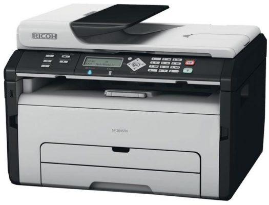 Ricoh SP 204 SFNW Multifunktionsgerät