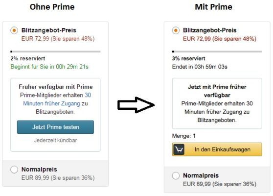Nicht Prime Vs Prime Vorkaufen