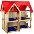 Selecta 4249 Puppenhaus mit drei Etagen
