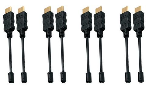 5er Pack 2m High Speed HDMI Kabel