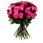 Rosenstrauß in rosarot