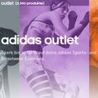 Adidas Outlet: Bis zu 50% Rabatt + 20% Extra-Rabatt mit Gutscheincode