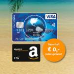 Kostenlose VISA World Kreditkarte + 15€ BestChoice-/Amazon.de-Gutschein