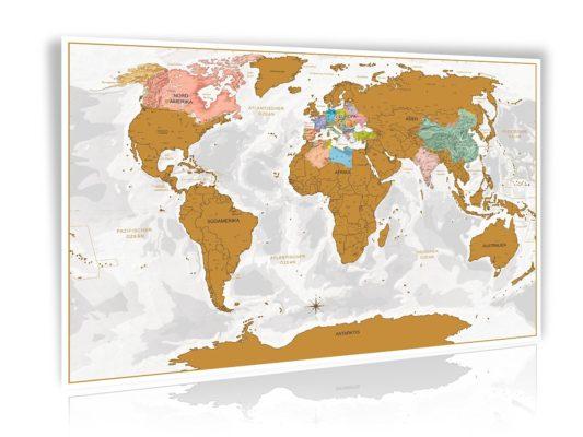 Rubbelweltkarte