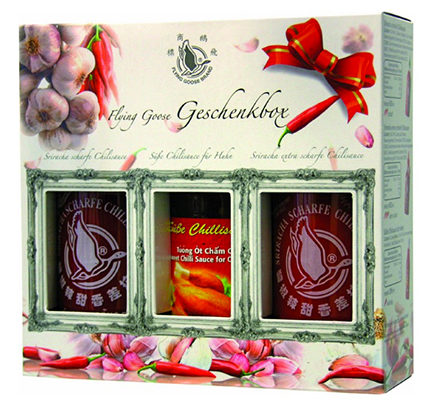 Flying-Goose-Sriracha-Chillisauce-Geschenkbox