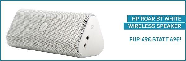 HP Roar BT White Speaker IBB