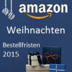 Liefergarantie Bestellfristen Amazon IBB