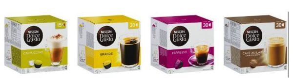 Nescafé Dolce Gusto Magnum Packungen