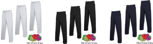 fruit of the loom jogginghose lightweight bsp