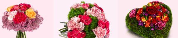Valentinstagsstrauß
