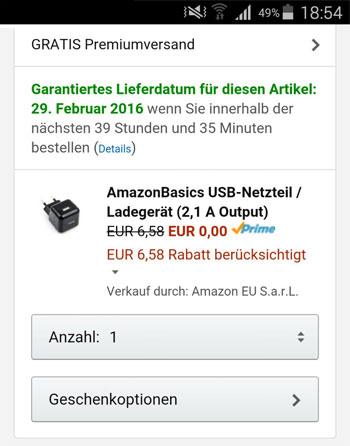 amazon-usb-netzteil-prime-gratis