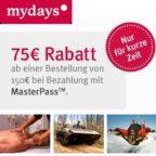 Mydays Masterpass BB