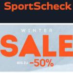 SportScheck: Bis zu 50% Rabatt im Wintersale