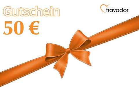 Travador 50 Euro Gutschein