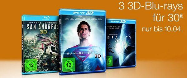 3 3D Blu-rays ibb