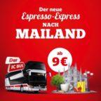 IC Bus nach Mailand BB