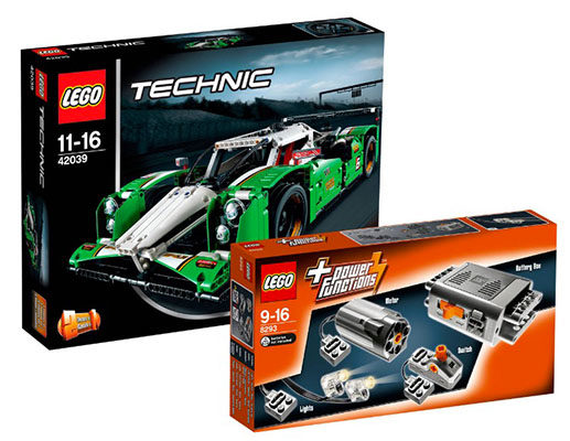 Lego-Technic-Rennwagen