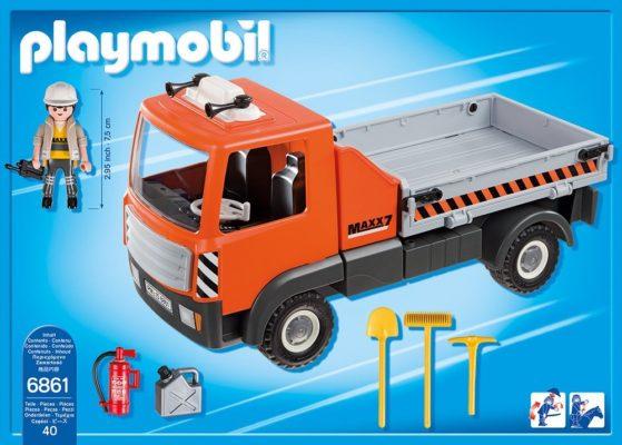 PLAYMOBIL 6861 - Baustellen-LKW bsp