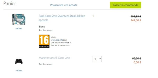 Xbox One Bundle Quantum Beweis