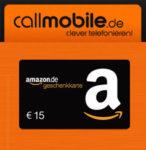 *Nur bis 22.11.* 30€ BestChoice/Amazon.de-Gutschein mit nur 5,90€ Einsatz (Callmobile)