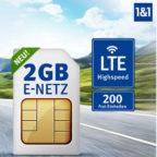 200 Min + 100 SMS + 2GB LTE für 6,99€ (oder mit bis zu 400 Min/SMS + 4GB LTE) im D2- oder E-Netz