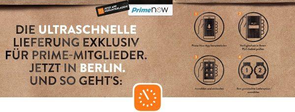 Amazon Prime Now IBB