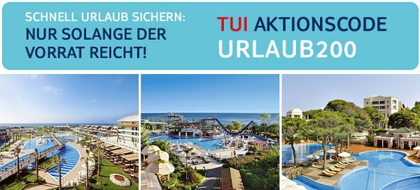 Turkei Urlaub TUI 200 Rabatt IBB