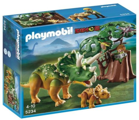 playmobil Triceratops mit Baby 5234