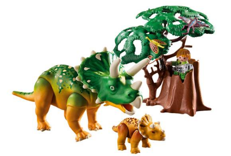 playmobil Triceratops mit Baby 5234 bsp