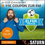 Saturn: Elfer für alle! 11€ geschenkt je 100€ Einkaufswert