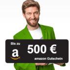Smava: Bis zu 500€ Amazon.de Gutschein* für Kredit (ab 1,99%)