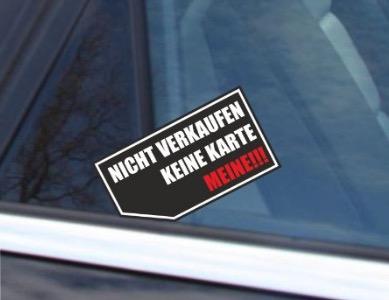 Gratis Autoaufkleber Gegen Nervige Autokäufer