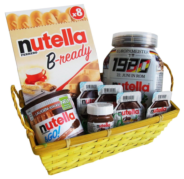 Ferrero Nutella Spezialitäten Geschenk Set 8-teilig ab 19,99€ (statt ...